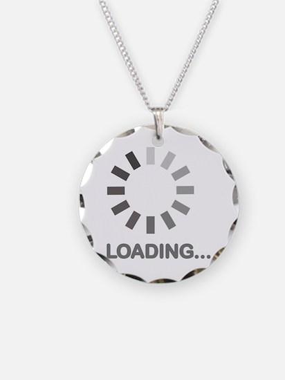 Loading bar internet Necklace