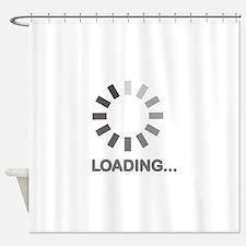Loading bar internet Shower Curtain