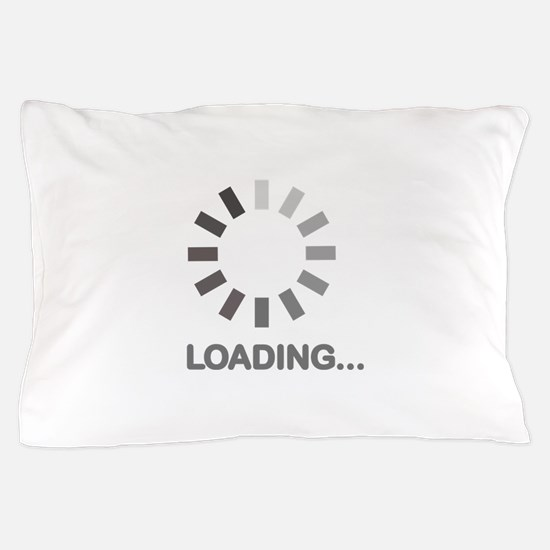 Loading bar internet Pillow Case