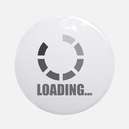 Loading bar Ornament (Round)