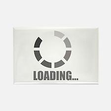 Loading bar Rectangle Magnet