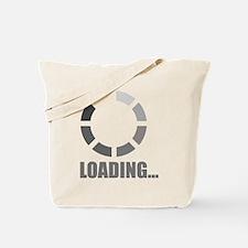Loading bar Tote Bag