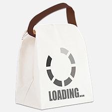 Loading bar Canvas Lunch Bag