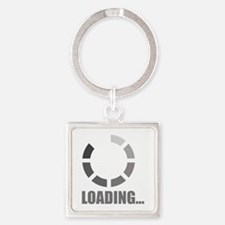 Loading bar Square Keychain