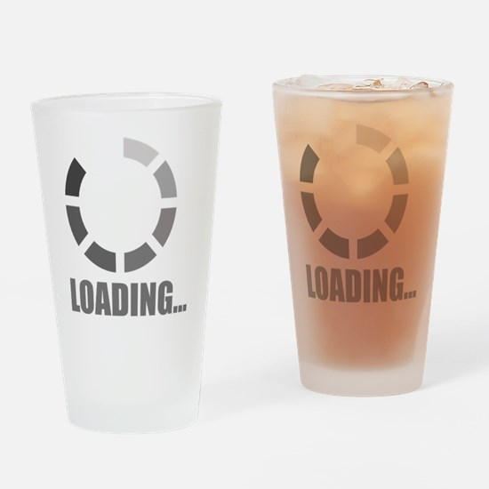 Loading bar Drinking Glass