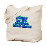 Plant A Tree Wine Tote Bag