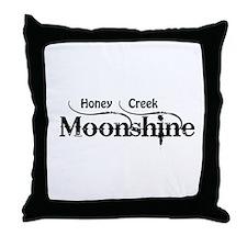Honey Creek Moonshine Throw Pillow