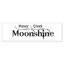 Honey Creek Moonshine Bumper Bumper Sticker