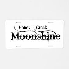 Honey Creek Moonshine Aluminum License Plate