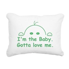 I'm the Baby Rectangular Canvas Pillow