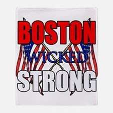 Boston wicked Strong 2 Throw Blanket