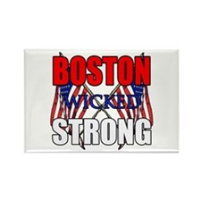Boston wicked Strong 2 Rectangle Magnet