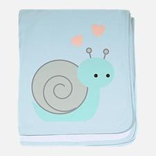 Lovely Snail baby blanket