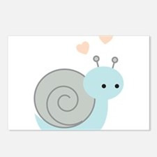 Lovely Snail Postcards (Package of 8)
