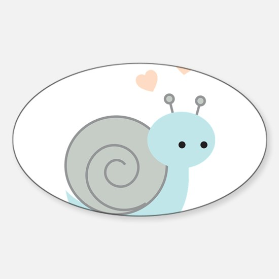 Lovely Snail Decal