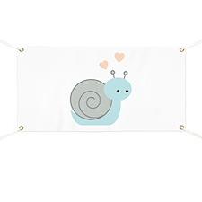 Lovely Snail Banner