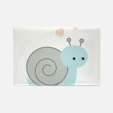 Lovely Snail Rectangle Magnet