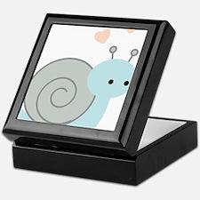 Lovely Snail Keepsake Box