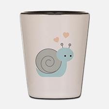 Lovely Snail Shot Glass