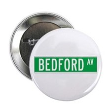 """Bedford Ave., New York - USA 2.25"""" Button (100 pa"""