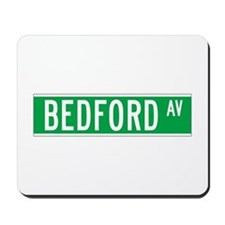 Bedford Ave., New York - USA Mousepad