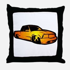 Mini Truck Throw Pillow