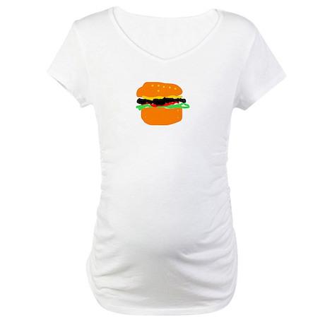 burger Maternity T-Shirt