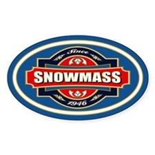 Snowmass Old Label Decal