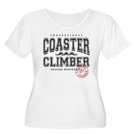 Seaside Coaster Climber Women's Plus Size Scoop Ne