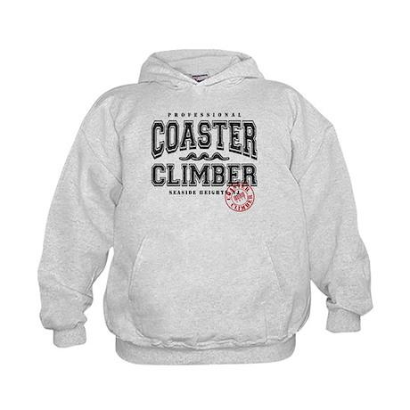 Seaside Coaster Climber Kids Hoodie