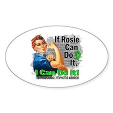If Rosie Can Do It NH Lymphoma Decal