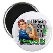 "If Rosie Can Do It NH Lymphoma 2.25"" Magnet (10 pa"