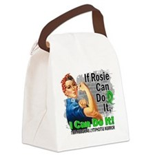 If Rosie Can Do It NH Lymphoma Canvas Lunch Bag