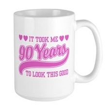 Funny 90th Birthday Mug