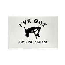 I've got High Jump skills Rectangle Magnet