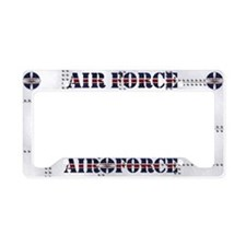 Harvest Moons Air Force License Plate Holder
