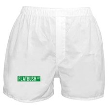 Flatbush Ave., New York - USA Boxer Shorts