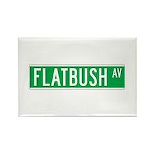 Flatbush Ave., New York - USA Rectangle Magnet