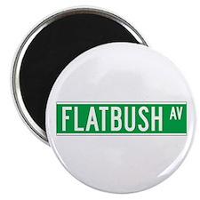 Flatbush Ave., New York - USA Magnet