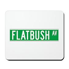 Flatbush Ave., New York - USA Mousepad