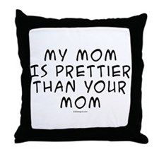 Pretty Mom Throw Pillow