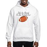 Girls & Football Hooded Sweatshirt