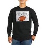 Girls & Football Long Sleeve Dark T-Shirt