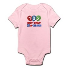 102 year old designs Infant Bodysuit