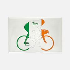 Irish Cycling Rectangle Magnet (100 pack)