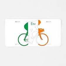 Irish Cycling Aluminum License Plate