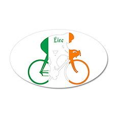 Irish Cycling Wall Decal