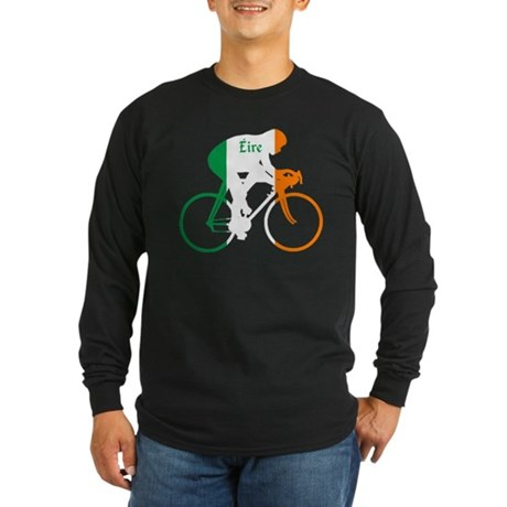 Irish Cycling Long Sleeve Dark T-Shirt