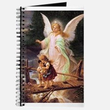 Guardian Angel with Children on Bridge Journal