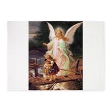 Guardian Angel with Children on Bridge 5'x7'Area R